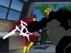justice-league-season-1-15-the-brave-and-the-bold-part-2-flash-vs-gorilla-grodd-review-episode-guide-list